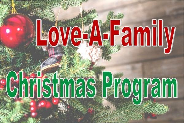 Love A Family Christmas Program