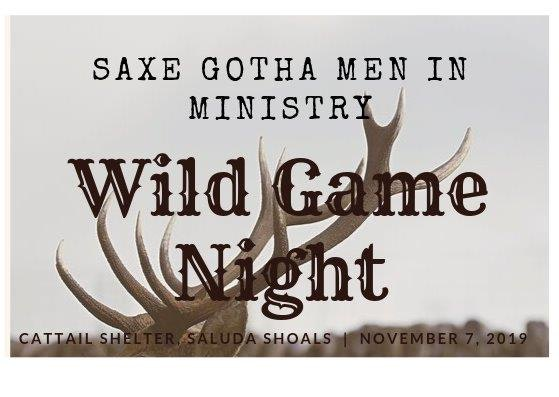 Wild Game Night Logo