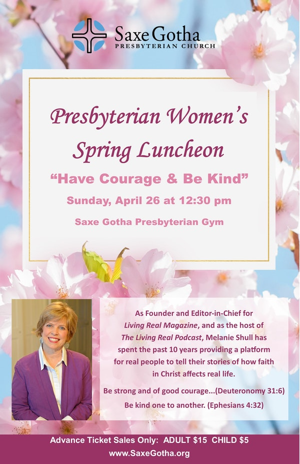 Womens Luncheon Poster 11x17
