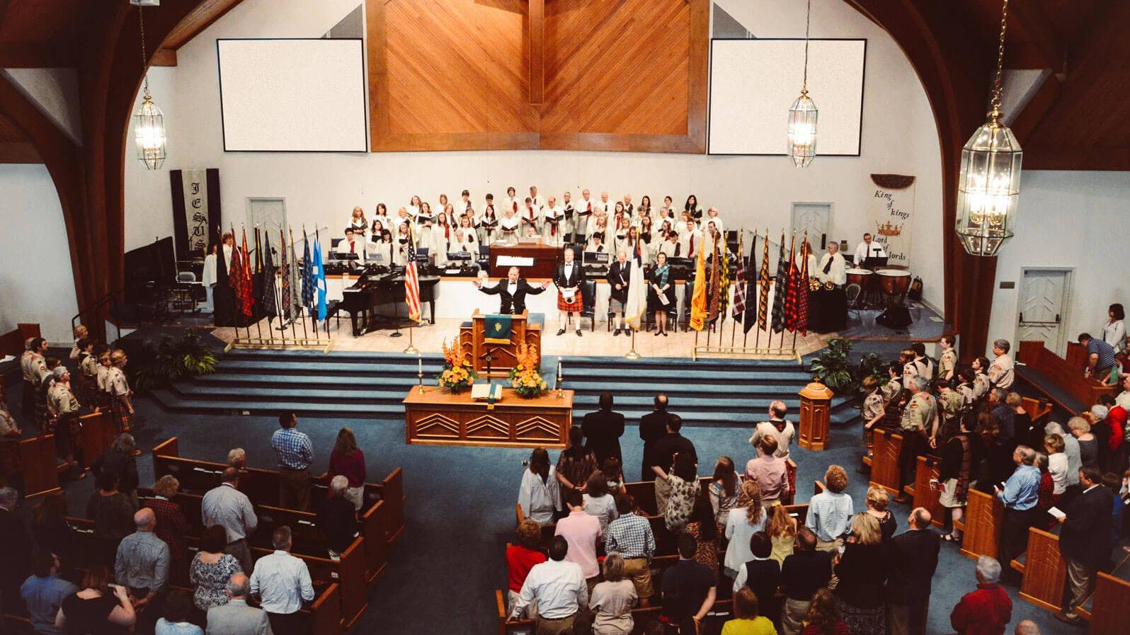 Saxe Gotha Presbyterian Church traditional service
