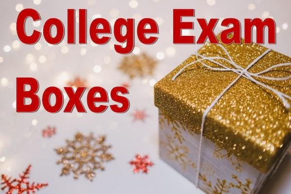College Exam Boxes Logo
