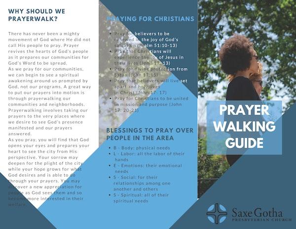 Prayerwalking Brochure 002 Page 1