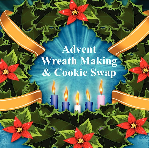 Advent Wreath Event Graphc