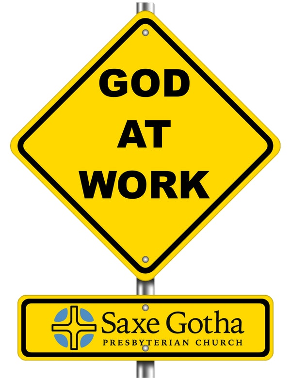 God At Work Sign Logo Without Background