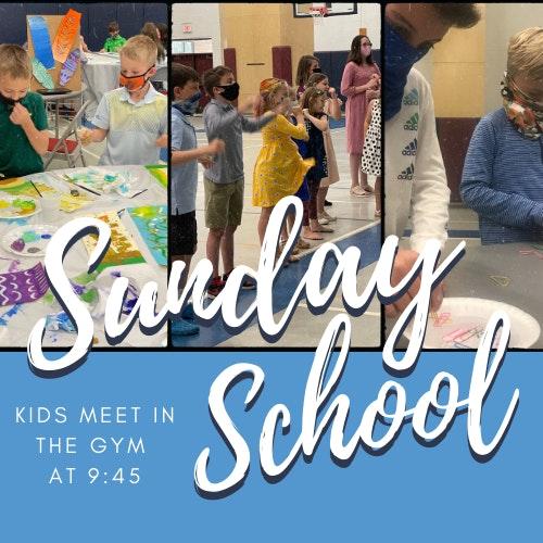 Kids Sunday School Graphic