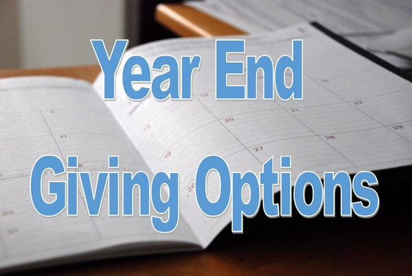 Year End Giving Options