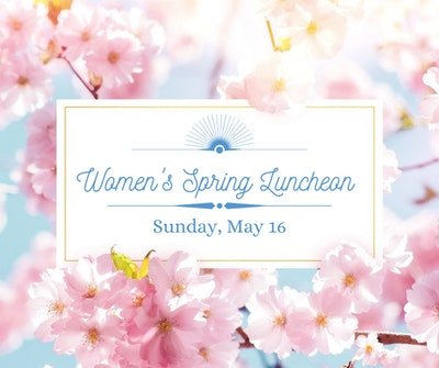 Womens Luncheon Graphic