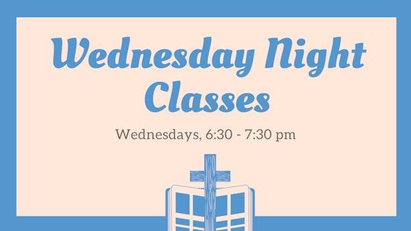 Wednesday Night Classes 225 21