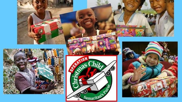 Operation Christmas picture collage