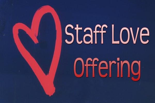 Staff Love Offering