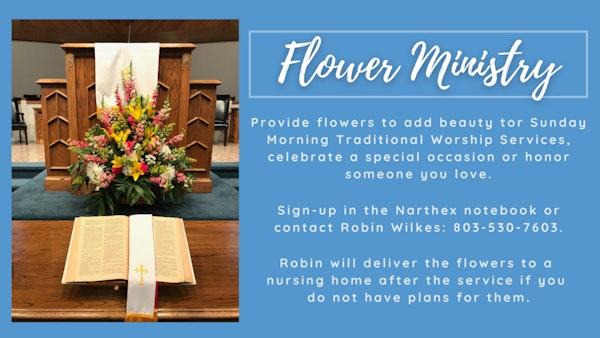 Flower Ministry 521 21