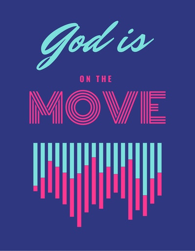 God Is On The Move Wed In July 2021 Logo