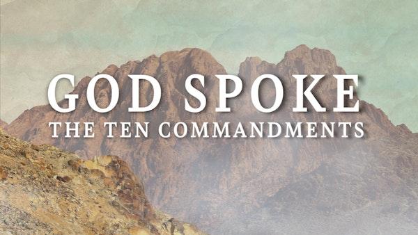 Ten Commandments Title Slide