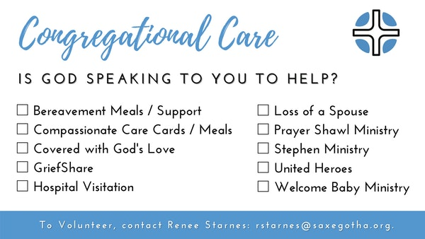 Congregational Care Slide Short