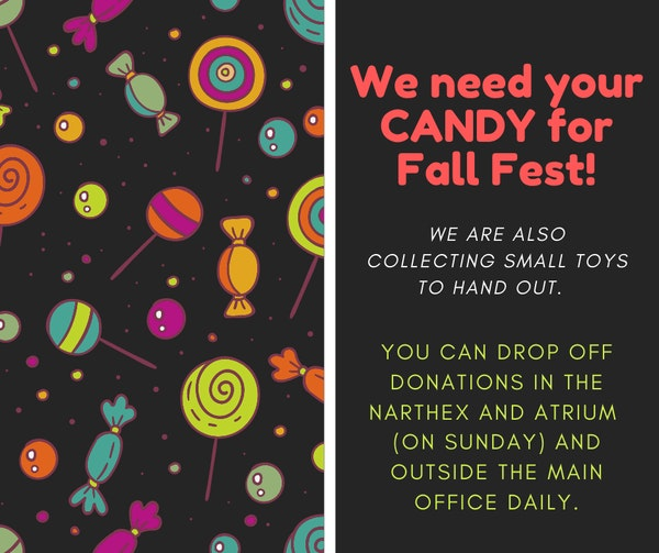 Candy Collection For Fall Fest 2021