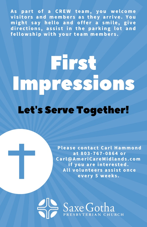 First Impressions Poster 7 21